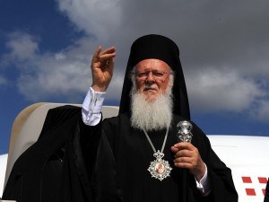 17.6.2014_Σε εγκάρδιο κλίμα η συνάντηση  Βενιζέλου – Οικουμενικού Πατριάρχη