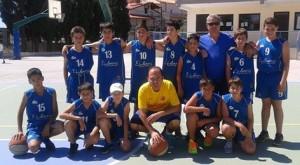 1.7.2014_Ομάδα μίνι μπάσκετ Βλαχάκης