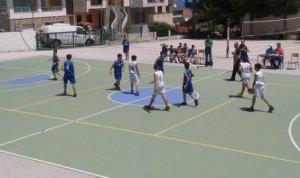 1.7.2014_Ομάδα μίνι μπάσκετ αγώνας
