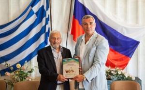 22.7.2014_Διεθνές λογοτεχνικό βραβείο στον Αλέξη Πάρνη