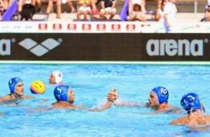22.7.2014_Πόλο ισοπαλία με Ιταλία για την Εθνική Ανδρών