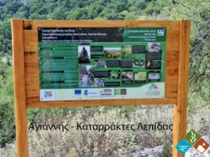 24.9.2014_Εγκατάσταση πληροφοριακών πινακίδων στην περιοχή όρους Πάρνωνα και υγροτόπου Μουστού_Λεπίδα
