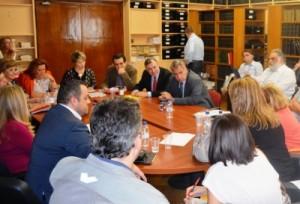 11.10.2014_Ευρεία σύσκεψη στο υπουργείο Υγείας για τον Έμπολα