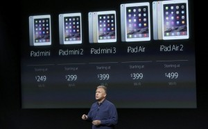 17.10.2014_Αποκαλυπτήρια του iPad Air 2 και του iPad Mini 3 από την Apple