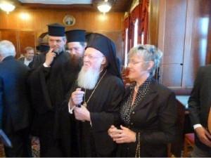 6.10.2014_Τον Οικουμενικό Πατριάρχη επισκέφθηκε η πρύτανης του Ιονίου Πανεπιστημίου_1
