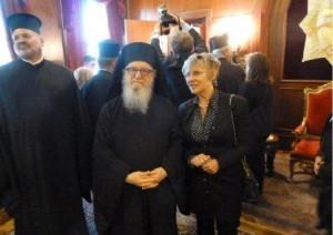 6.10.2014_Τον Οικουμενικό Πατριάρχη επισκέφθηκε η πρύτανης του Ιονίου Πανεπιστημίου_2