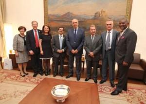 8.10.2014_Το Ελληνικό Κοινοβούλιο υποδέχθηκε αντιπροσωπεία Βουλευτών από την Βουλή των Αντιπροσώπων των ΗΠΑ