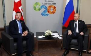 15.11.2014_Σε «θετικό κλίμα» οι συναντήσεις Πούτιν με Ολάντ - Κάμερον στην Αυστραλία