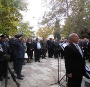 4.11.2014_Τους πεσόντες αεροπόρους Δριστίλα και  Παπαϊωάννου τίμησαν οι Θηβαίοι