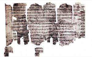 8.11.2014_Ο πάπυρος του Δερβενίου υποψήφιος για τον κατάλογο της Unesco
