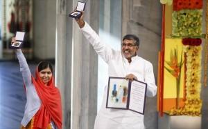 10.12.2014_Βραβεύτηκαν και επισήμως με το Νόμπελ Ειρήνης η Μαλάλα και Ινδός ακτιβιστής