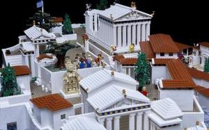 12.12.2014_Πολύχρωμη Ακρόπολη από 120.000 Lego