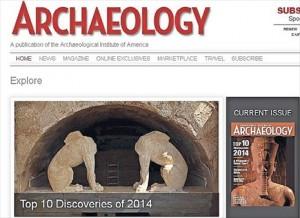 18.12.2014_Αμφίπολη στις σημαντικότερες ανακαλύψεις του 2014