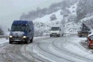 30.12.2014_Σε λευκό κλοιό η Πελοπόννησος - Που απαιτούνται αλυσίδες
