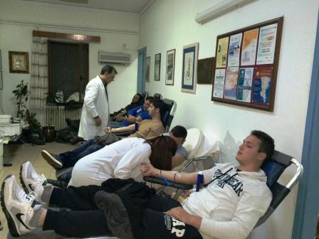 29.1.2015_Εθελοντική αιμοδοσία στο Κέντρο Υγείας Αρεόπολης_1