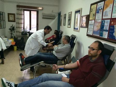 29.1.2015_Εθελοντική αιμοδοσία στο Κέντρο Υγείας Αρεόπολης_2