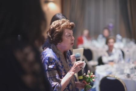 Η Πρόεδρος του ΜΕDASSET Λίλη Βενιζέλου.