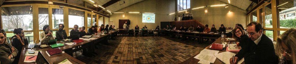 12.2.2015_Ο Δήμος Καβάλας στη διαχειριστική συνάντηση για το δίκτυο TOGETHER στο Bordeaux Γαλλίας