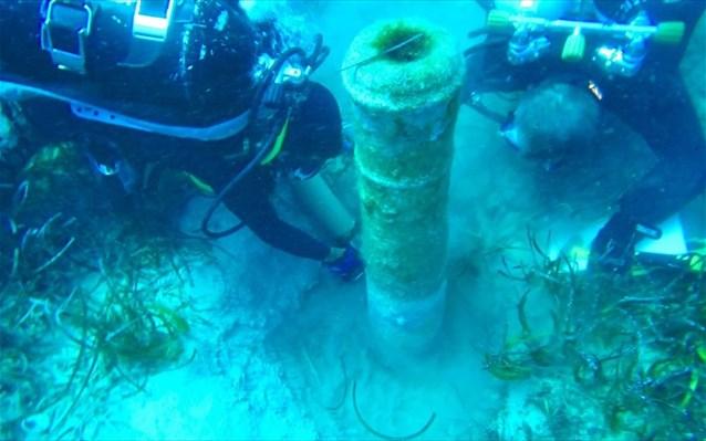 15.2.2015_Σημαντικά ευρήματα από την έρευνα στο ναυάγιο Νησιά Παραλιμνίου Κύπρου