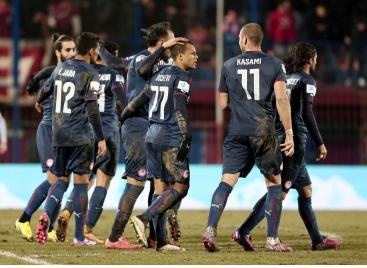 2.2.2015_Επιταχύνει για τον τίτλο ο Ολυμπιακός 2-0 στη Βέροια