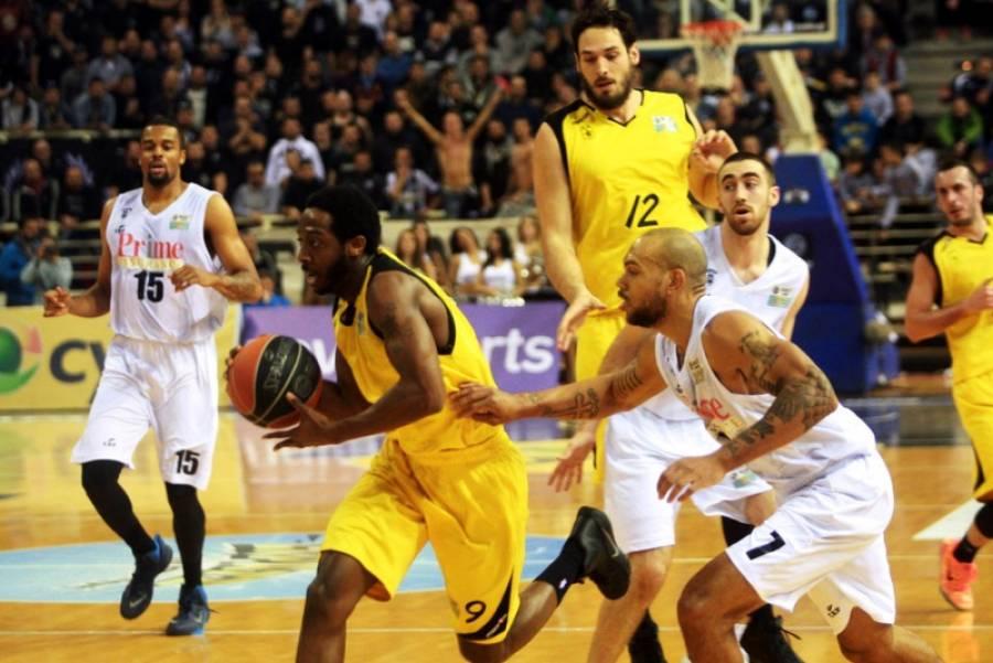 8.2.2015_Μπάσκετ - Αφεντικό στην Θεσσαλονίκη ο Άρης