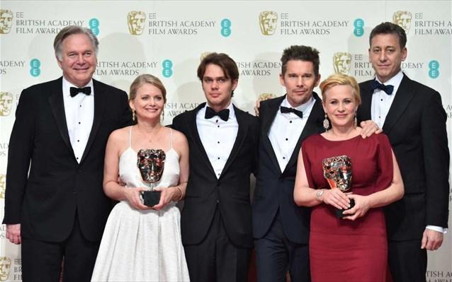 9.2.2015_BAFTA 2015 στο «Boyhood» το βραβείο καλύτερης ταινίας