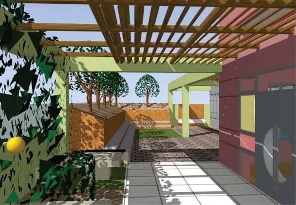 13.3.2015_Οι εκπαιδευτικοί στην Καβάλα προτείνουν τρόπους για να ομορφύνουν οι αυλές των σχολείων