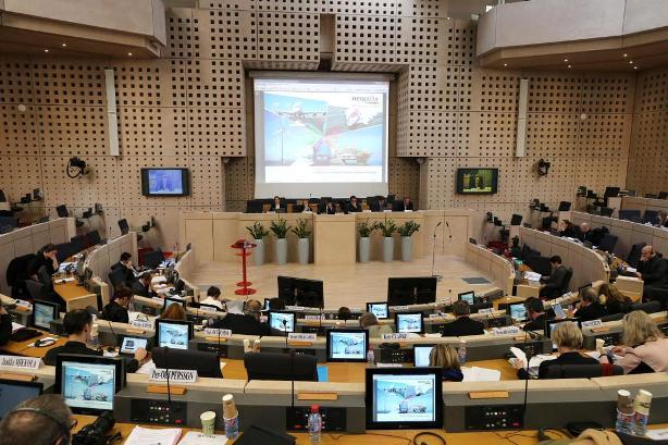 9.3.2015_Η Περιφέρεια Πελοποννήσου στη Διάσκεψη του  Πολιτικού Γραφείου της CPMR στη Γαλλία