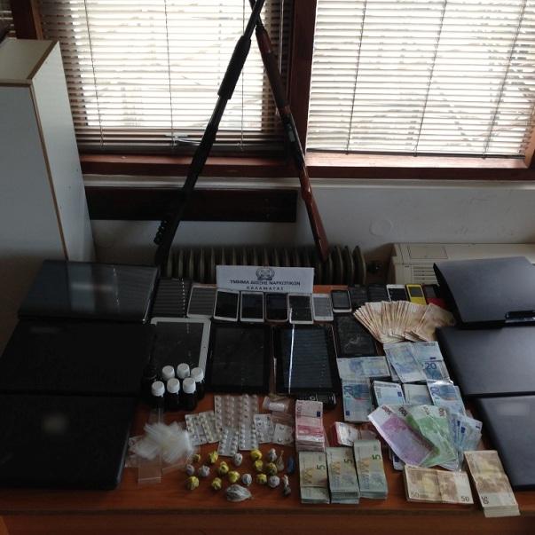 4.3.2015_Εξαρθρώθηκαν δύο εγκληματικές οργανώσεις οι οποίες διακινούσαν ηρωίνη στην Πελοπόννησο