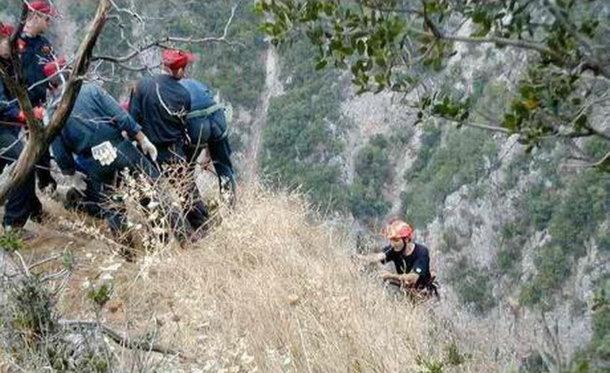 5.5.2015_Εντοπίστηκε 66χρονος Νορβηγός τραυματισμένος σε φαράγγι του Νομού Ρεθύμνου