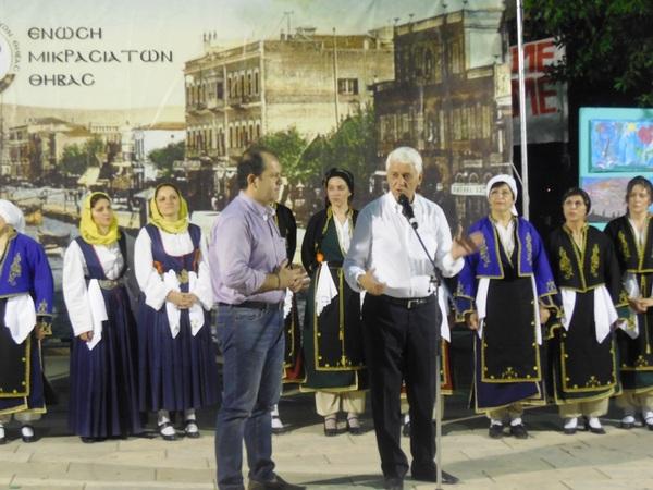 17.6.2015_Με επιτυχία το πολιτιστικό διήμερο της Ένωσης Μικρασιατών Θήβας