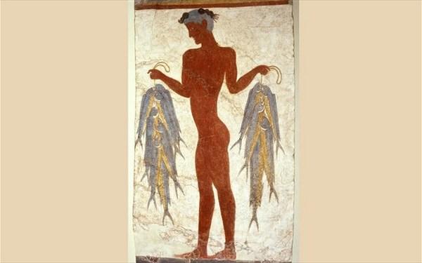 26.6.2015_Η διάσομη τοιχογραφία του Ψαρά