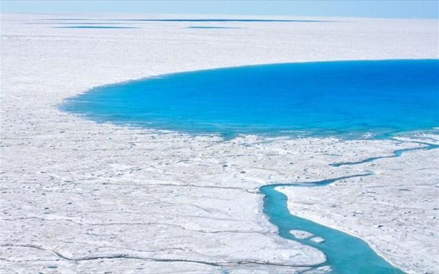 6.6.2015_Εξιχνιάστηκε το μυστήριο των εξαφανιζόμενων λιμνών της Γροιλανδίας