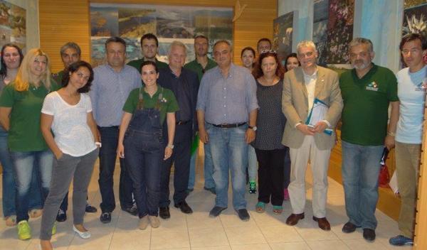 2.7.2015_Τον ΦΔ Πάρνωνα  Μουστού επισκέφθηκε ο Αναπληρωτής Υπουργός Γιάννης Τσιρώνης
