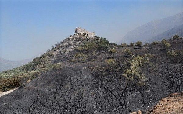 21.7.2015_Δεν διαπιστώθηκαν προβλήματα λόγω της φωτιάς στα μνημεία της περιοχής της Νεάπολης