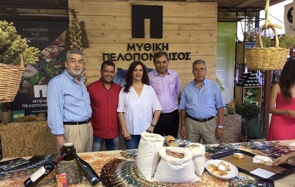 7.7.2015_Εγκαινιάστηκε η 18η Έκθεση Αγροτουρισμού Επιδαύρου