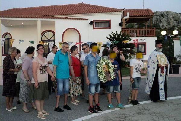 8.7.2015_Πανηγυρικός Εσπερινός στις κατασκηνώσεις της ΙΜΜΣ στο Λάχι Βοιών_4
