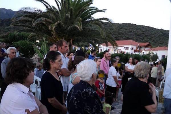 8.7.2015_Πανηγυρικός Εσπερινός στις κατασκηνώσεις της ΙΜΜΣ στο Λάχι Βοιών_6