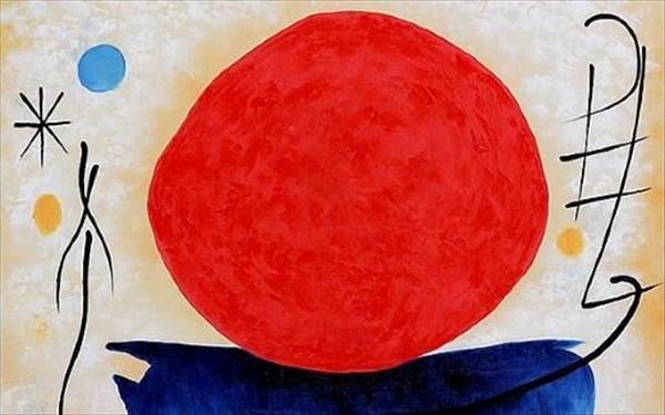17.8.2015_Κόκκινος ήλιος, Χουάν Μιρό