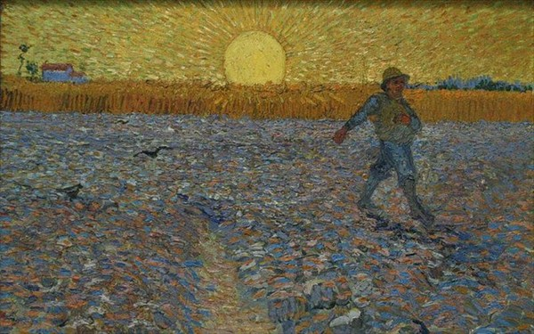 17.8.2015_The sower, Vincent Van Gogh