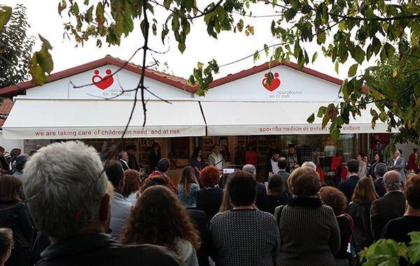14.10.2015_Πραγματοποιήθηκαν τα εγκαίνια του Πολυδραστικού Κέντρου Βεργίνας