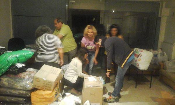 19.10.2015_Η ΕΛΜΕ Λακωνίας στο πλευρό των προσφύγων