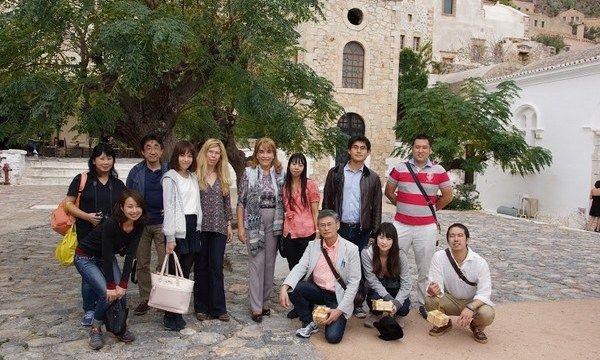 26.10.2015_Ενθουσιασμένοι από την Πελοπόννησο δήλωσαν εκπρόσωποι του ιαπωνικού τουρισμού