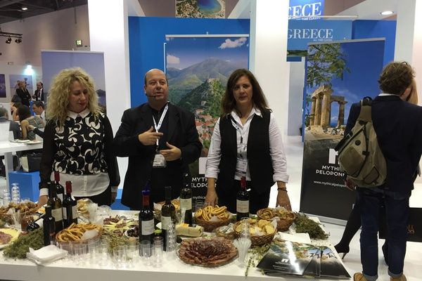 11.11.2015_Δυναμική παρουσία της Περιφέρειας Πελοποννήσου στη διεθνή έκθεση τουρισμού WTM Λονδίνου_2