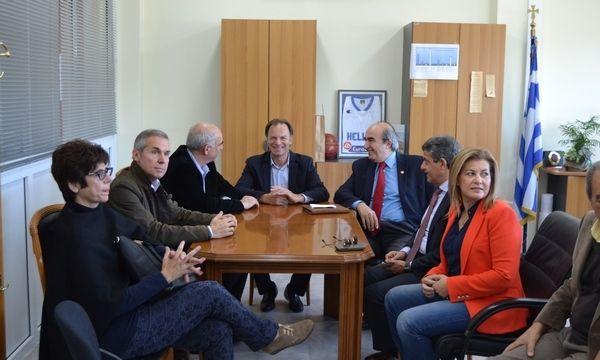 2.11.2015_Τους Μολάους επισκέφθηκε ο Ευάγγελος Μειμαράκης