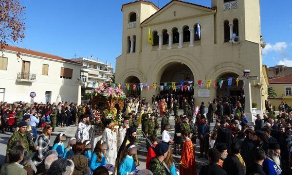 28.11.2015_Με θρησκευτική λαμπρότητα ο εορτασμός του Πολιούχου της Σπάρτης Οσίου Νίκωνος