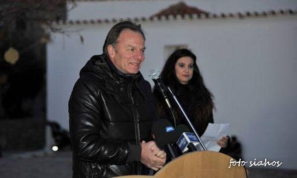 22.12.2015_Εγκαινιάστηκε η Πλατεία της Χρυσαφίτισσας στο Κάστρο Μονεμβασίας_Τριχείλης