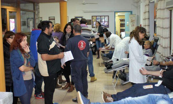 29.1.2016_Ιδιαίτερη επιτυχία σημείωσε η 9η Εθελοντική Αιμοδοσία στο Κέντρο υγείας Αρεόπολης_1