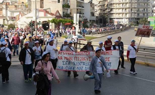 4.4.2016_Μεγάλη πορεία κατά της ανεργίας από την Πάτρα στην Αθήνα_2