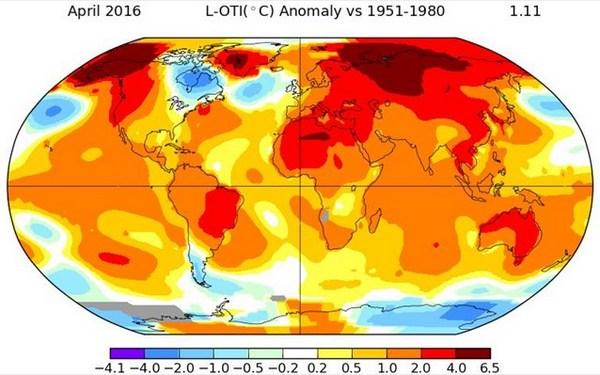 17.5.2016_Ο περασμένος Απρίλιος ήταν ο θερμότερος